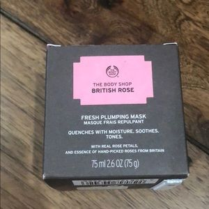 NIB The Body Shop Fresh Plumping Mask